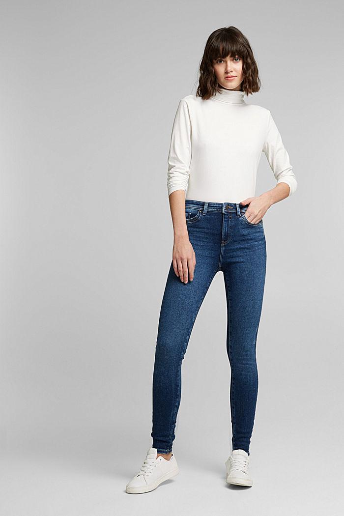 Organic Cotton Jeans mit LENZING™ ECOVERO™, BLUE DARK WASHED, detail image number 6