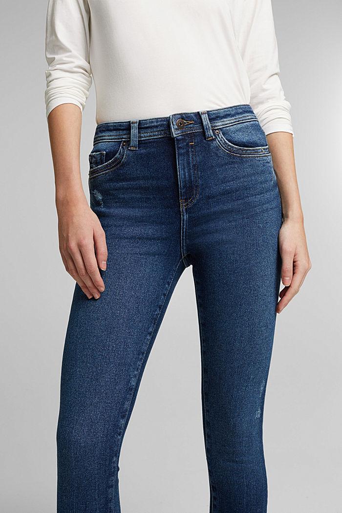 Organic Cotton Jeans mit LENZING™ ECOVERO™, BLUE DARK WASHED, detail image number 2