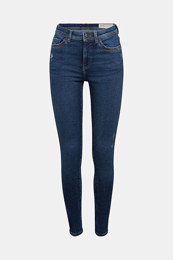 Organic Cotton Jeans mit LENZING™ ECOVERO™, BLUE DARK WASHED, detail image number 7