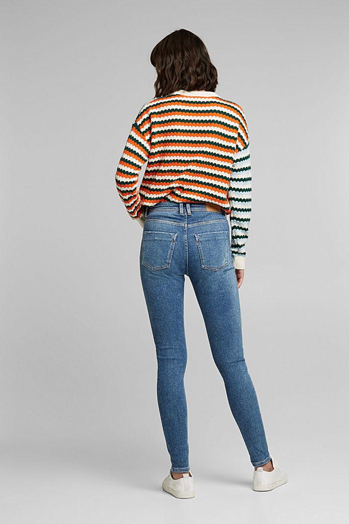 Organic Cotton Jeans mit LENZING™ ECOVERO™, BLUE MEDIUM WASHED, detail image number 3