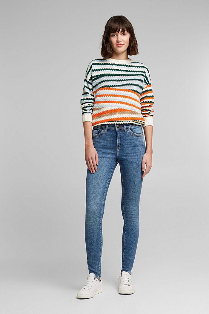 Organic Cotton Jeans mit LENZING™ ECOVERO™, BLUE MEDIUM WASHED, detail image number 1