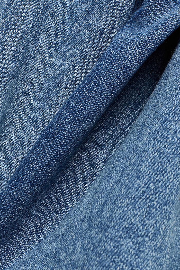Organic Cotton Jeans mit LENZING™ ECOVERO™, BLUE MEDIUM WASHED, detail image number 4