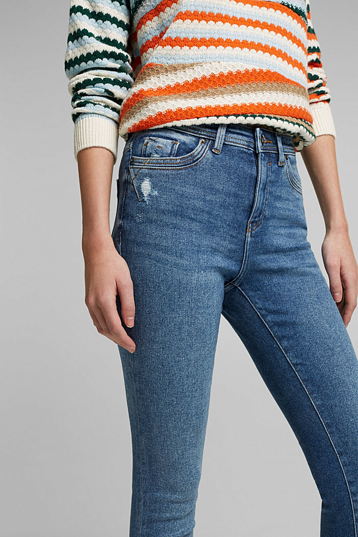 Organic Cotton Jeans mit LENZING™ ECOVERO™, BLUE MEDIUM WASHED, detail image number 5