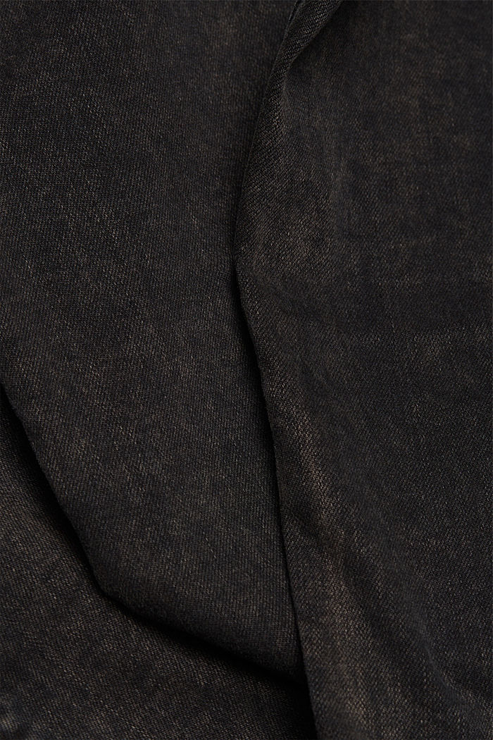 Superstretch-Jeans mit Acid-Waschung, BLACK, detail image number 4