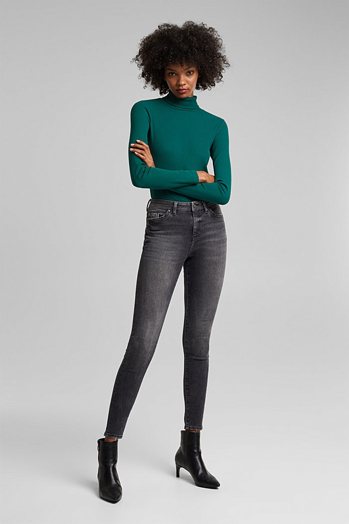 Organic cotton jeans with LENZING™ ECOVERO™