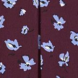 Print dress made of LENZING™ ECOVERO™, AUBERGINE, swatch