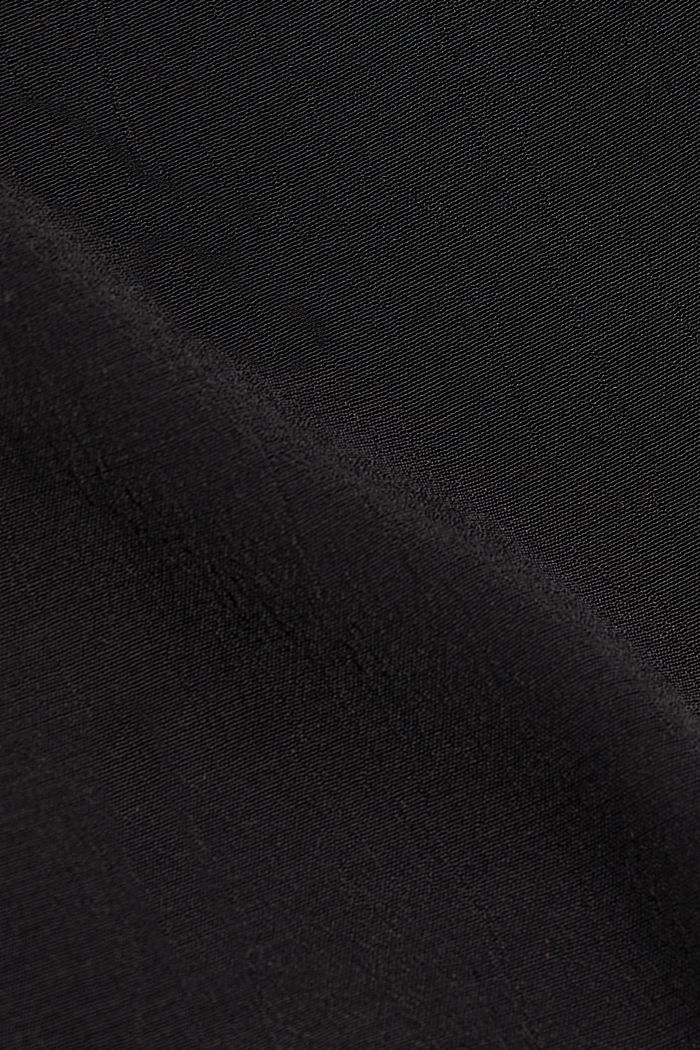 Tent dress made of LENZING™ ECOVERO™, BLACK, detail image number 4