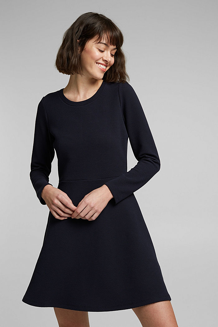 Jersey-Kleid mit Organic Cotton