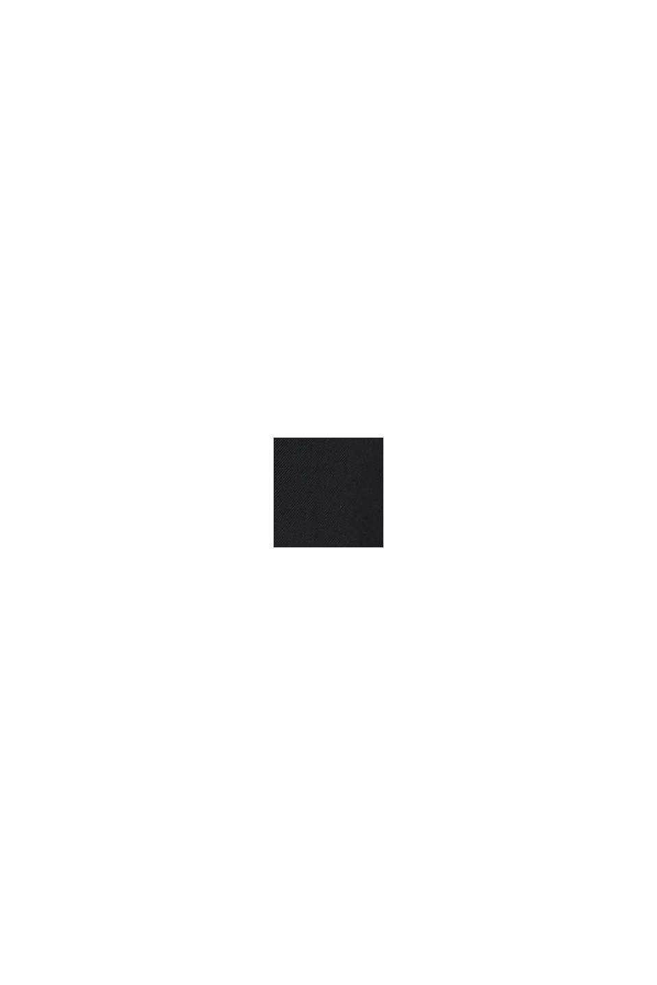 Żakiet oversize z elastanem, BLACK, swatch