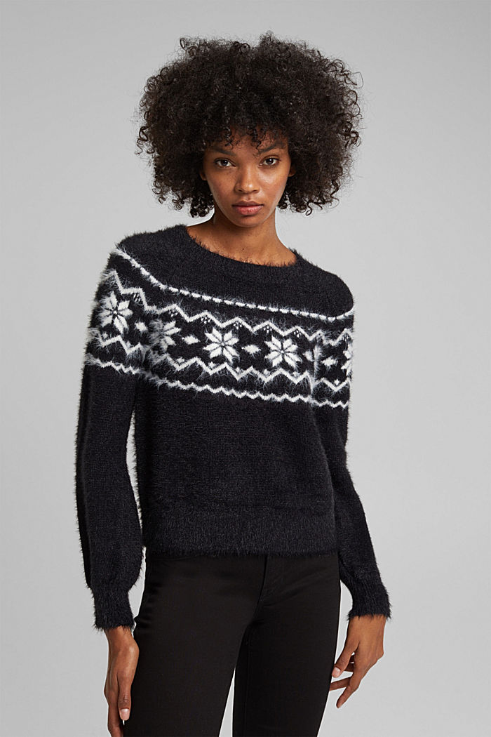 Fair Isle jumper with organic cotton