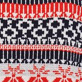 Wool blend: Jacquard jumper with lurex, RED, swatch