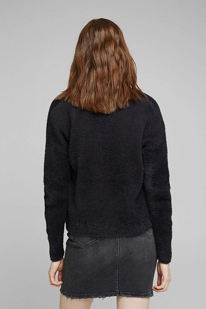 Cardigan mit Organic Cotton, BLACK, detail image number 3