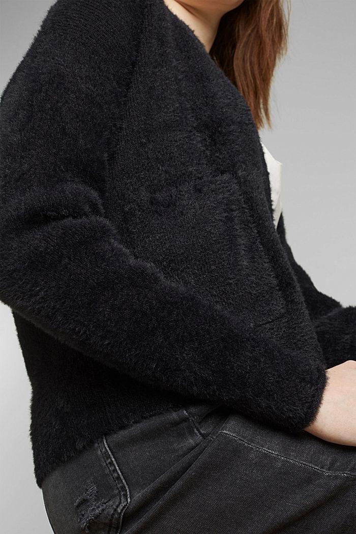 Cardigan mit Organic Cotton, BLACK, detail image number 2
