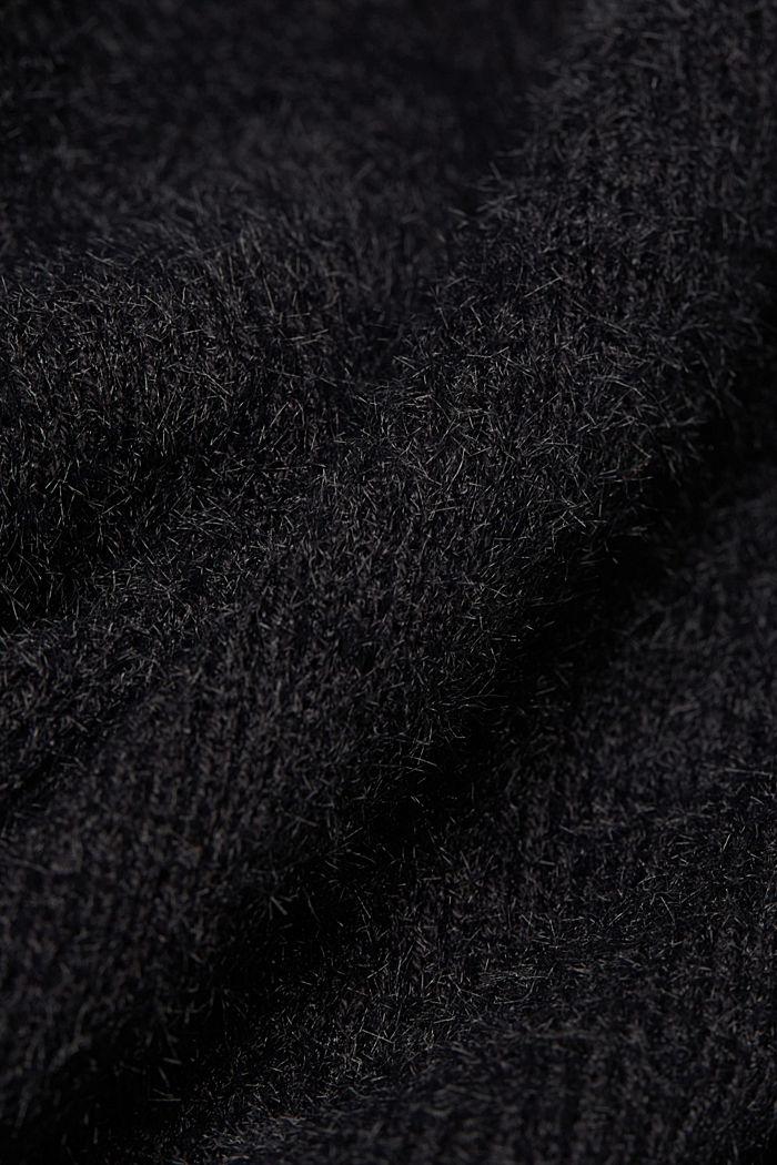 Cardigan mit Organic Cotton, BLACK, detail image number 4