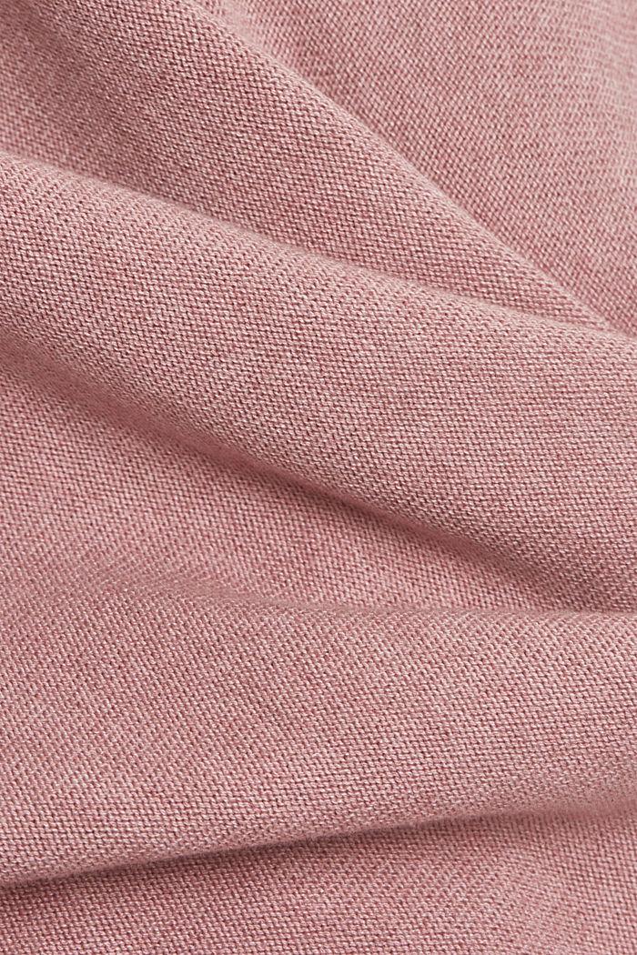 Trui met organic cotton, MAUVE, detail image number 4