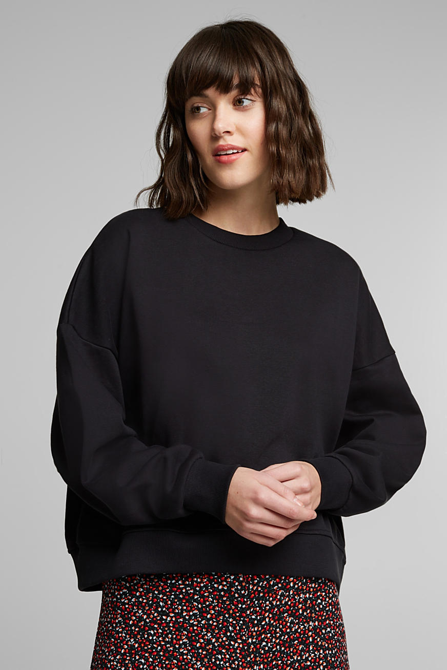 Sweatshirt met organic cotton