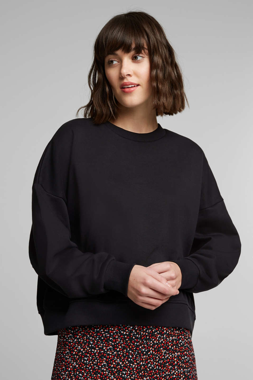 edc - Sweatshirt met organic cotton