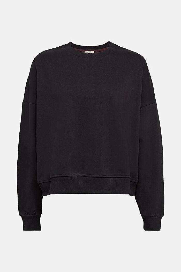 Sweatshirt met organic cotton