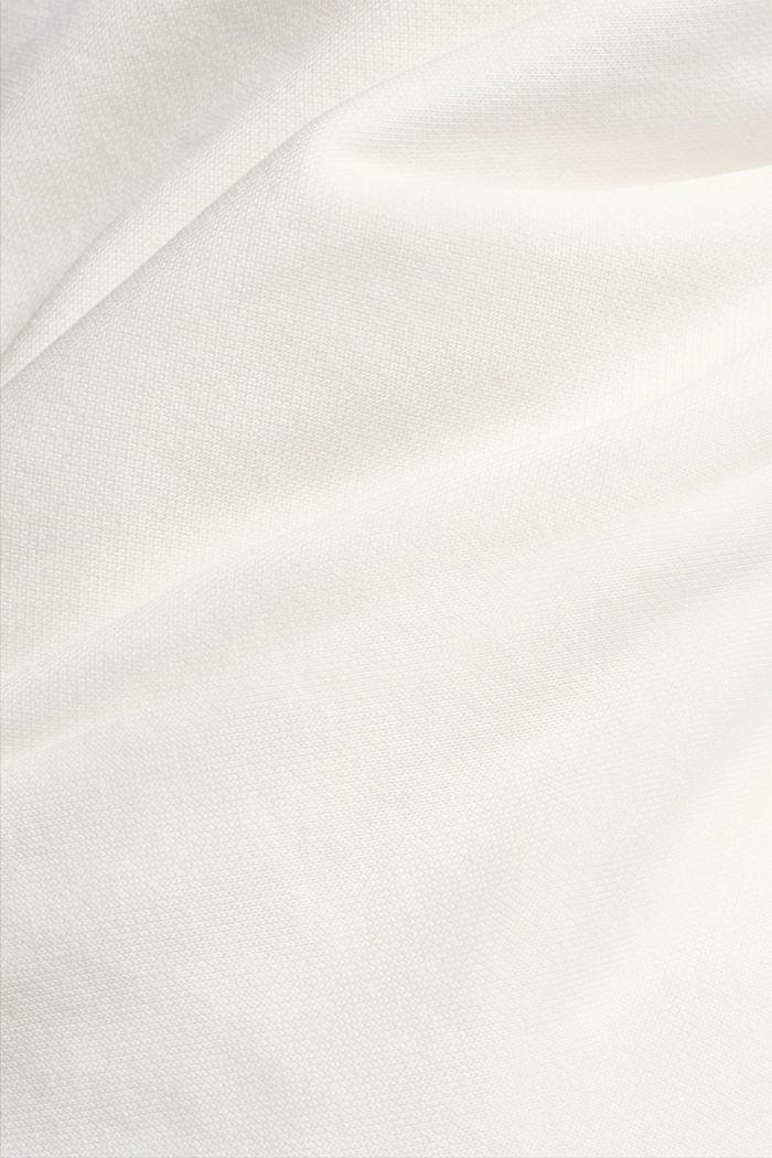 Mikina s bio bavlnou, OFF WHITE, detail image number 4