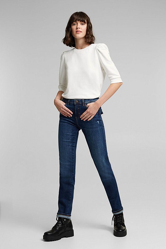 Organic cotton sweatshirt, OFF WHITE, detail image number 6