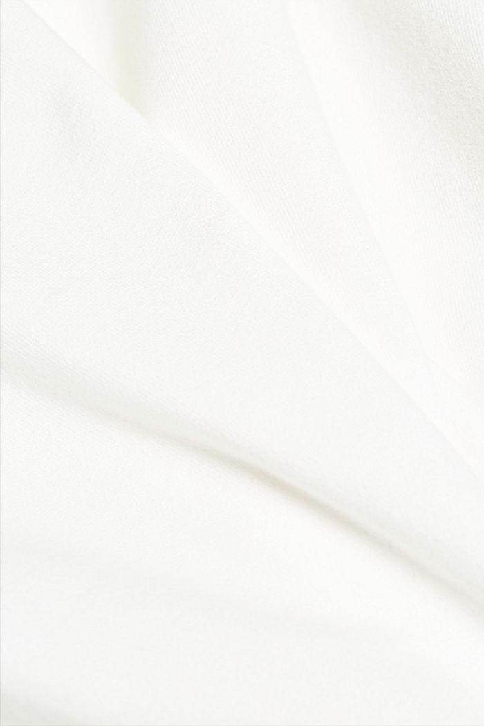 Organic cotton sweatshirt, OFF WHITE, detail image number 4