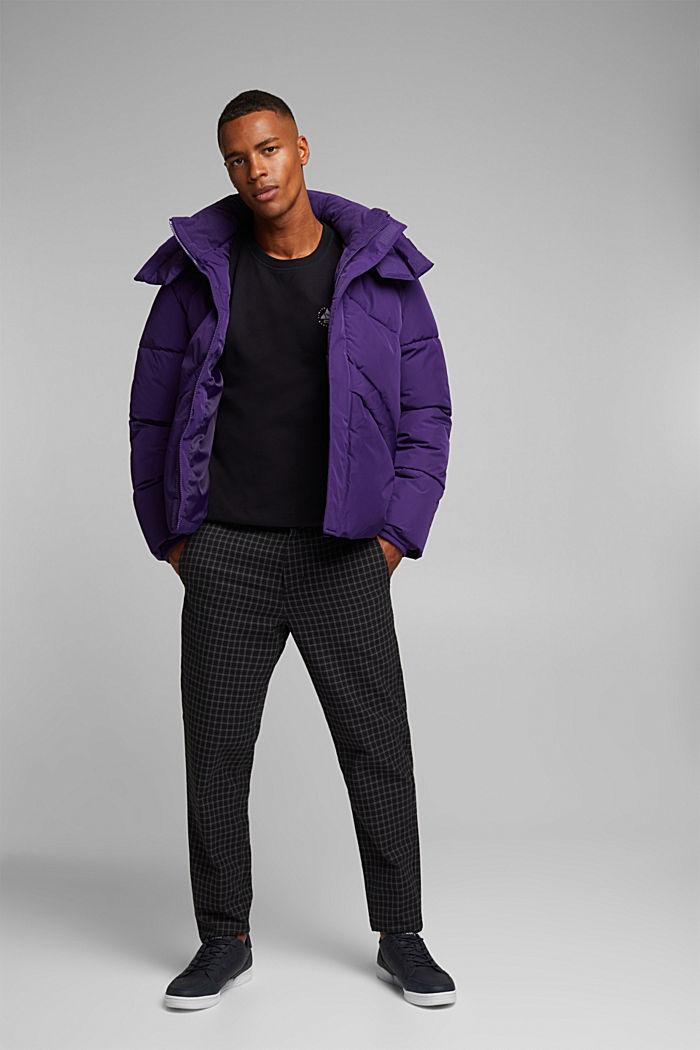 Print sweatshirt in 100% cotton, BLACK, detail image number 1