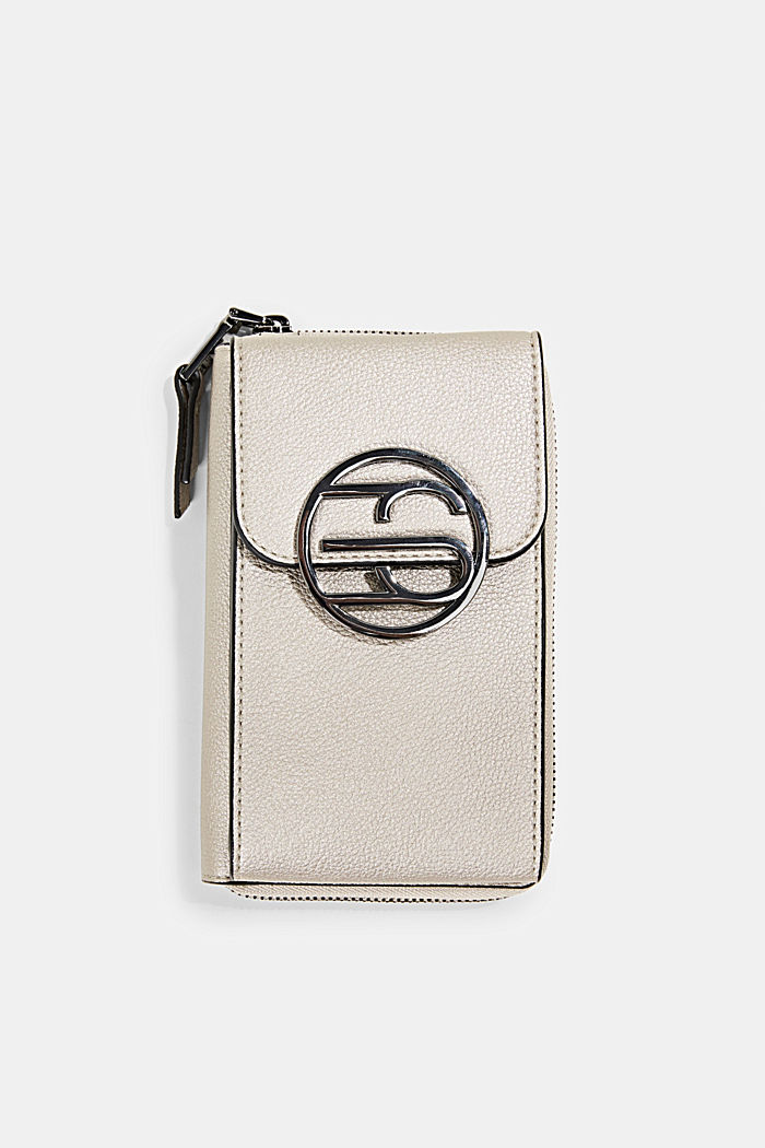Monogram phone bag and wallet, GUNMETAL, detail image number 0