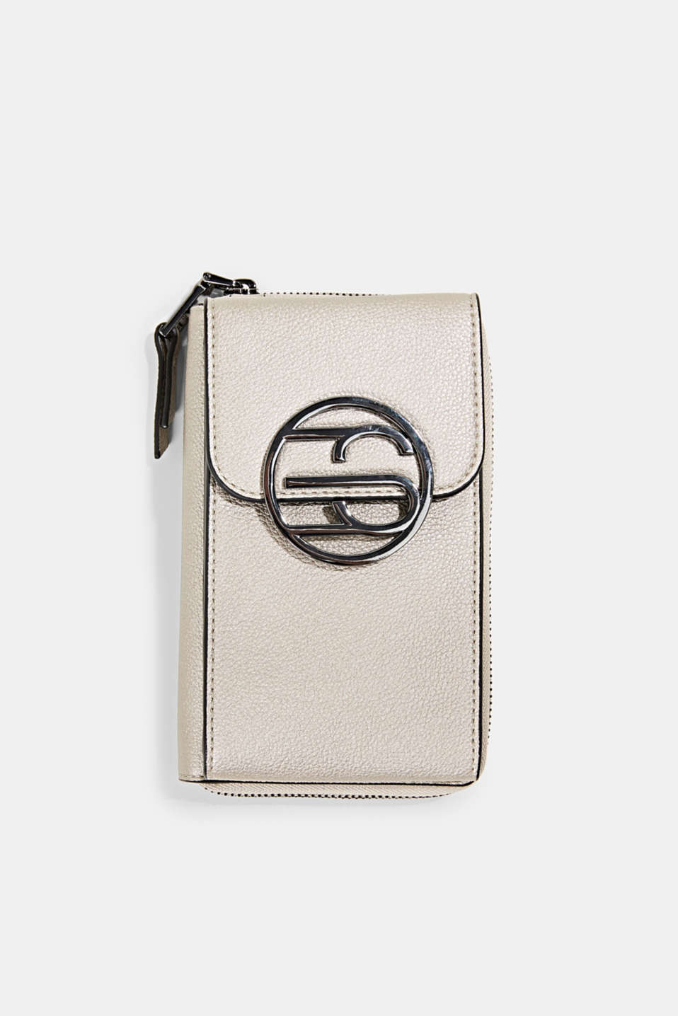 Esprit - Monogram phone bag and wallet
