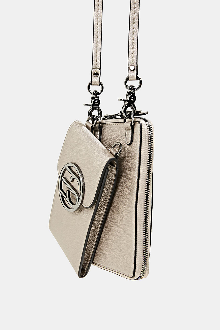 Monogram phone bag and wallet