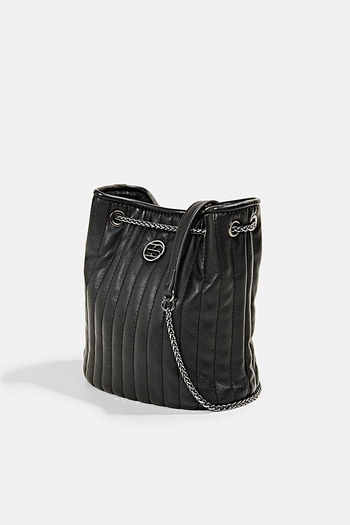 Kleine Schultasche mit Kettenriemen, BLACK, detail image number 2