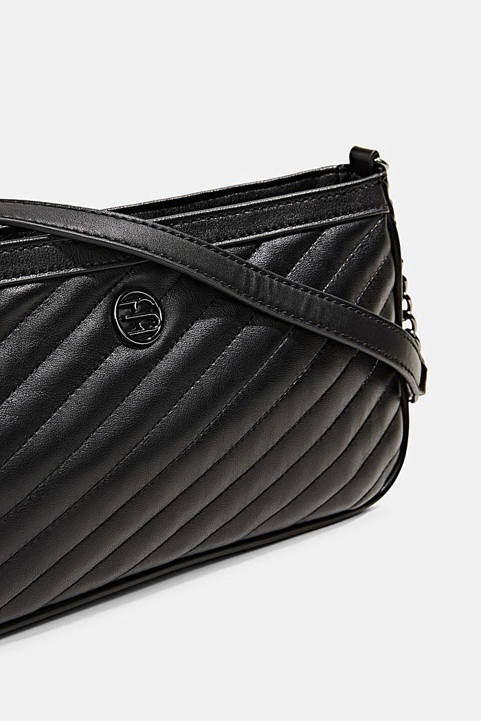 Tasche mit Steppstruktur, BLACK, detail image number 3