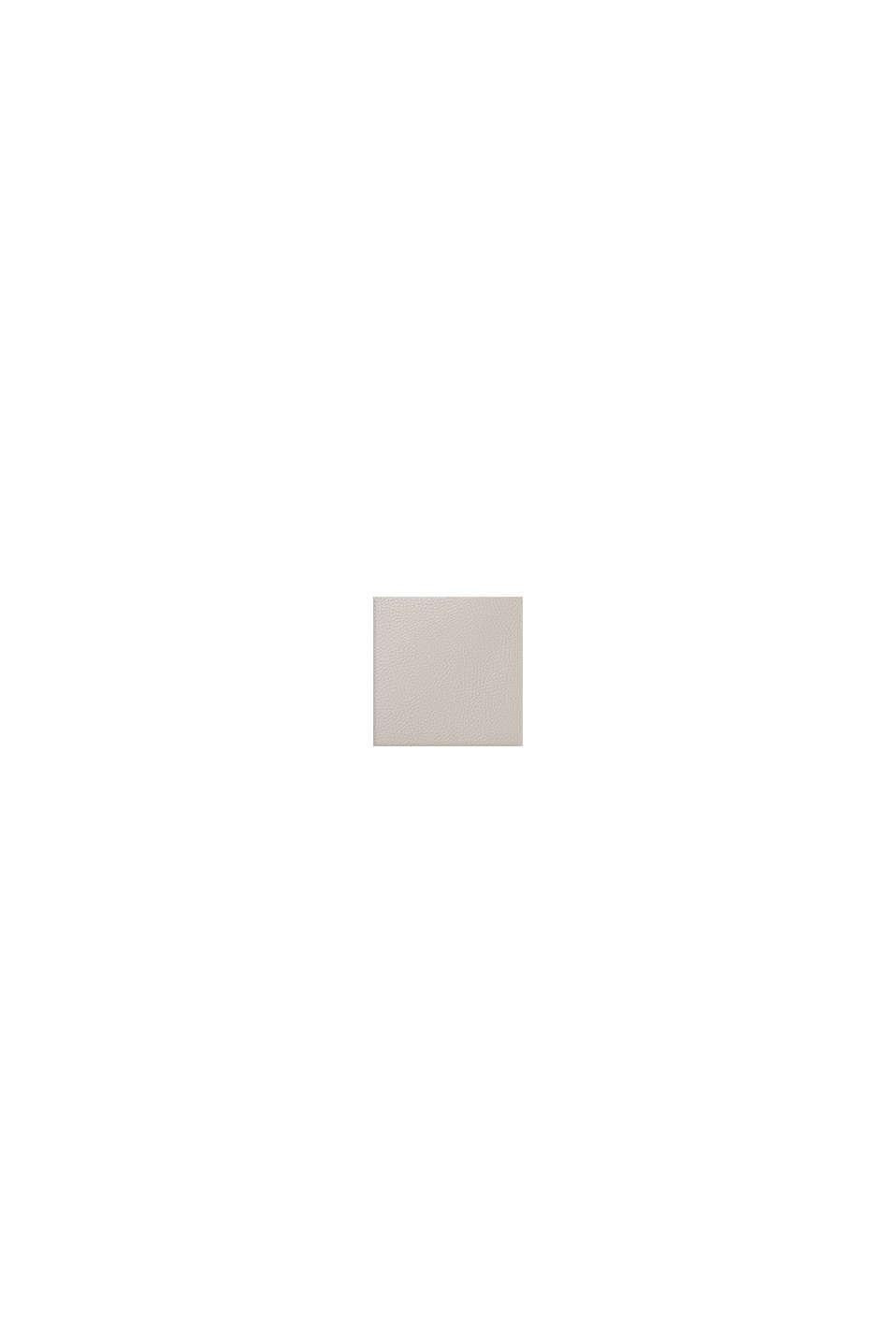 Sac bandoulière Monogramme en similicuir, LIGHT GREY, swatch