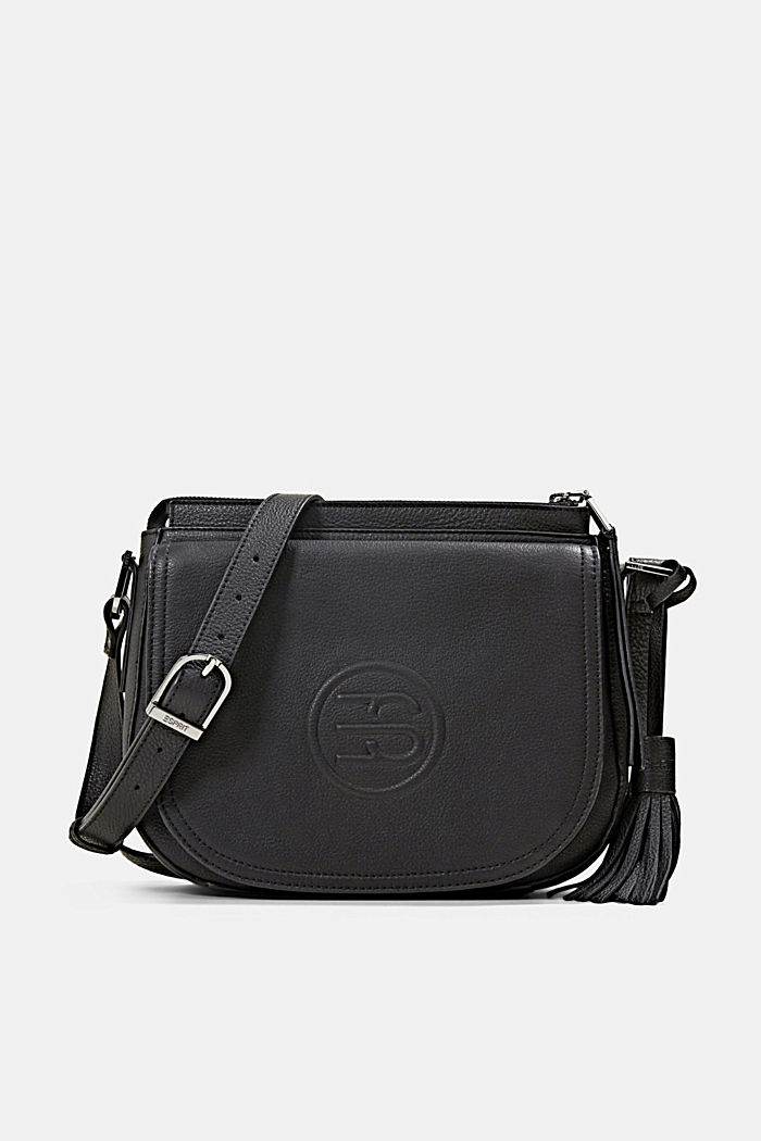 Monogram leather shoulder bag
