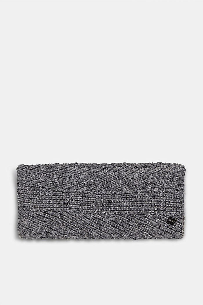 Recycled: wool/alpaca blend headband