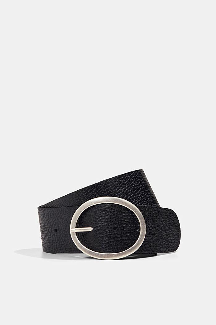 Leather hip belt
