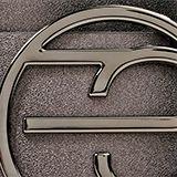 Cinturón con monograma en la hebilla, GUNMETAL, swatch