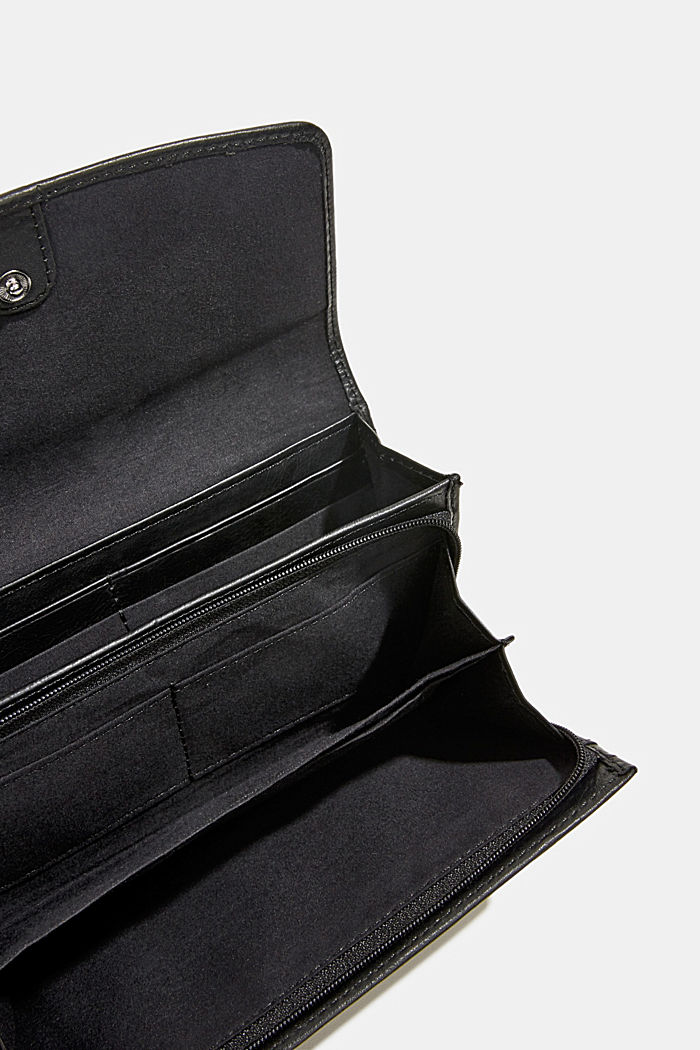 Monogram leather purse