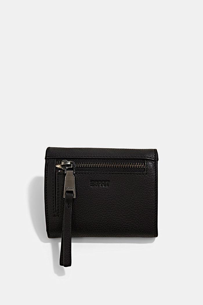 Monogram leather wallet, BLACK, detail image number 2