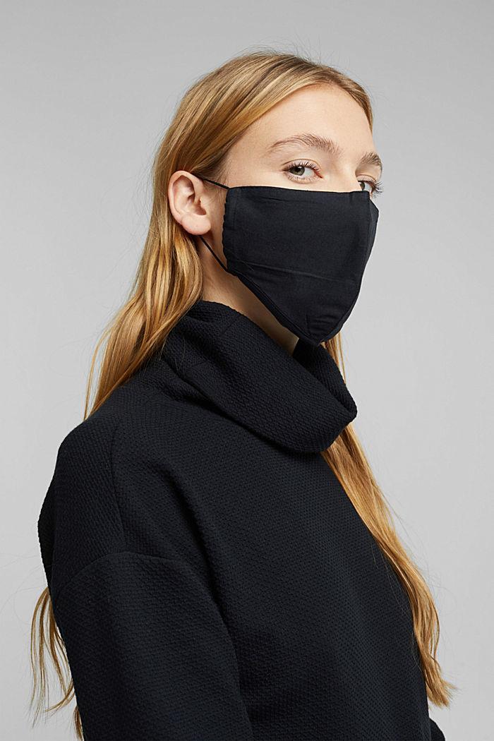 Masque unisexe, 100% coton biologique
