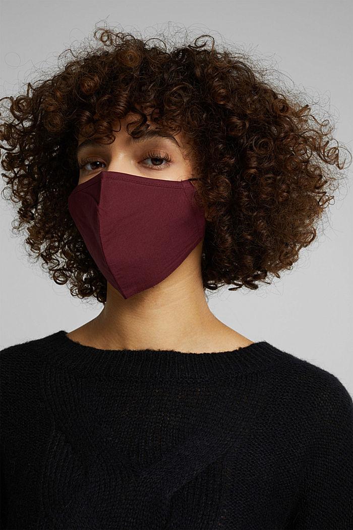 Unisex mask made of 100% organic cotton