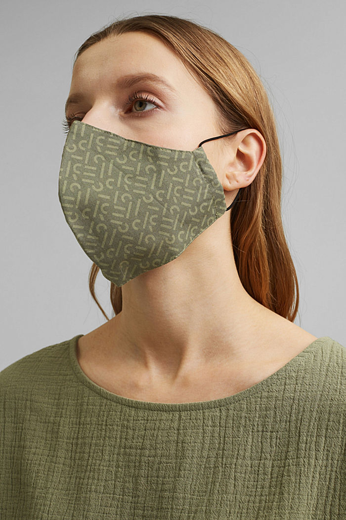 Face mask made of 100% organic cotton
