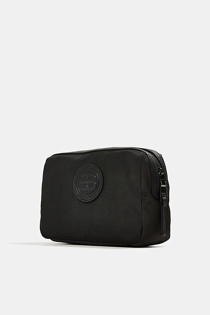 Monogrammed make-up bag, BLACK, detail image number 2