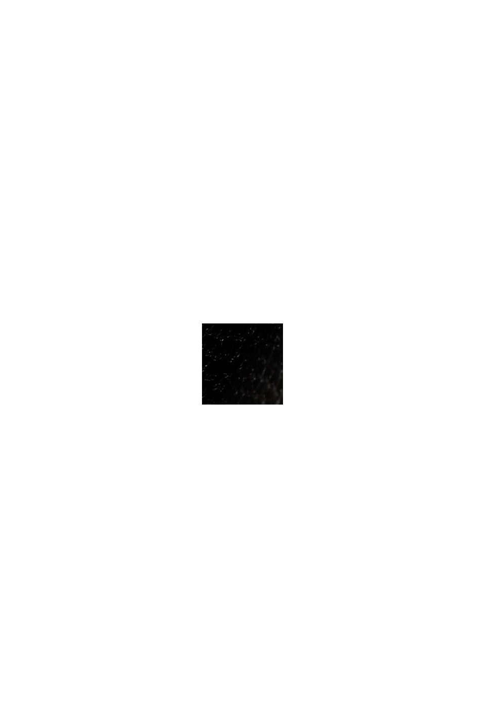 Leggings de polipiel con detalles de cremallera, BLACK, swatch
