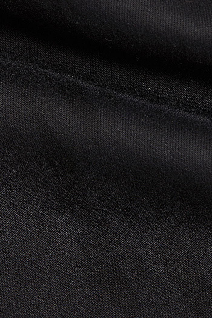Shaping jeans made of organic cotton, BLACK, detail image number 4