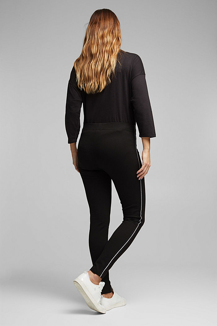 CURVY treggings with LENZING™ ECOVERO™, BLACK, detail image number 3