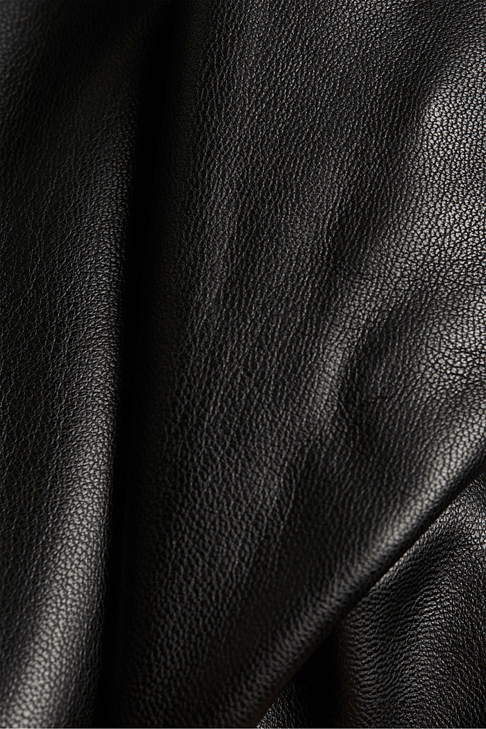 CURVY faux leather leggings, BLACK, detail image number 4