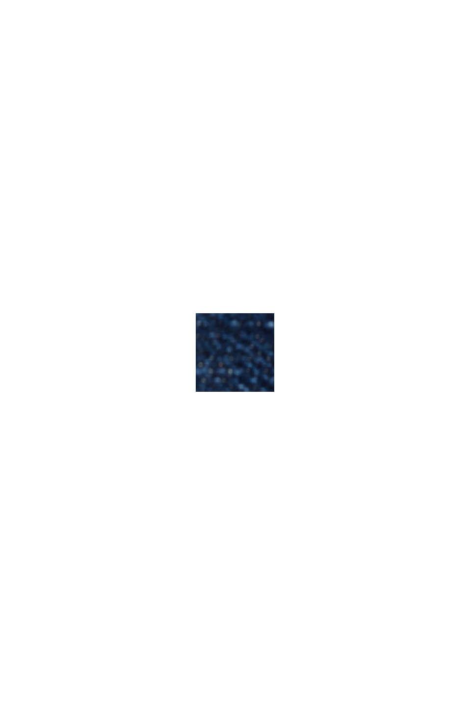 Vaqueros elásticos con efecto deslavado, BLUE DARK WASHED, swatch