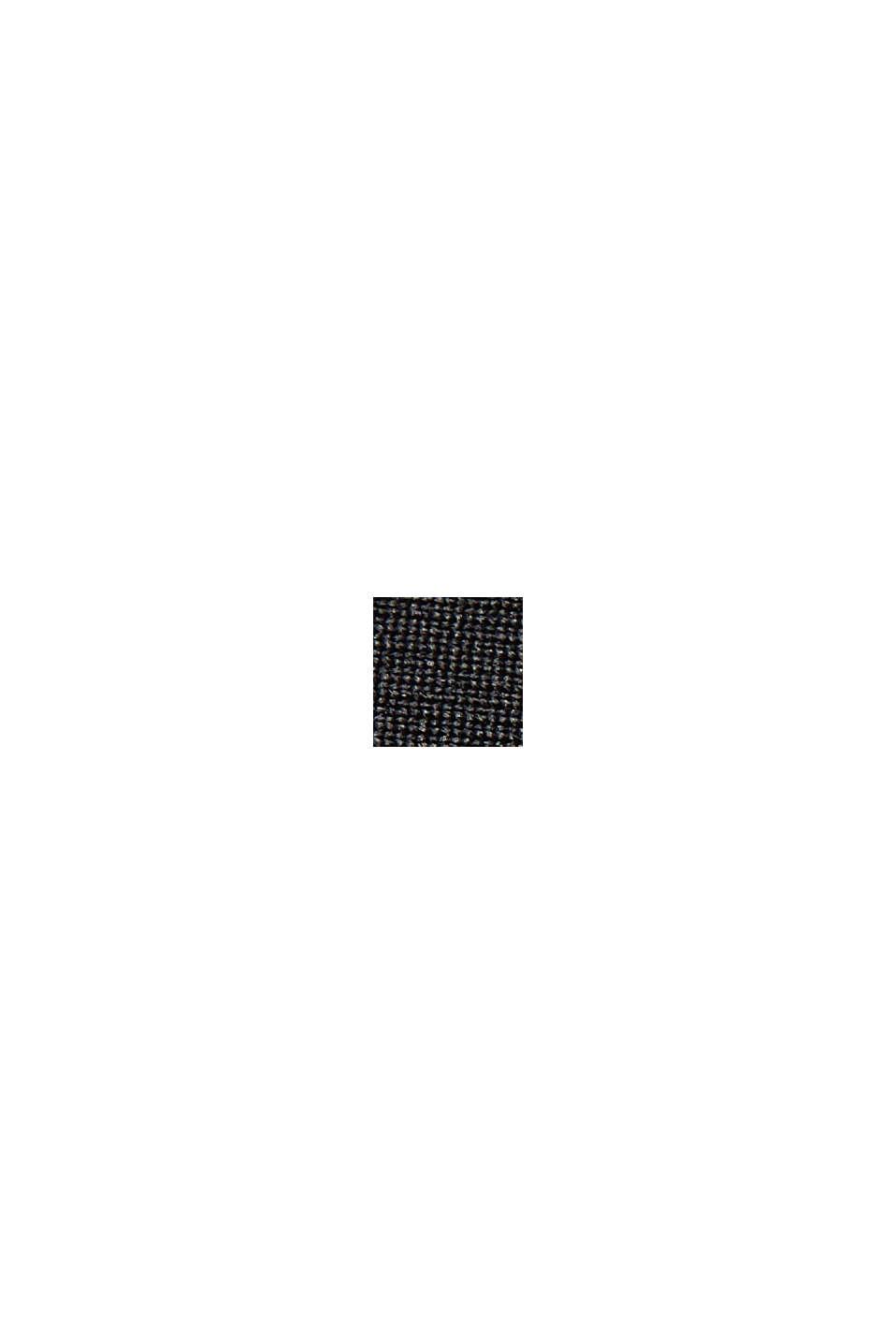 Jupe plissée à taille élastique d´allure sportive, BLACK, swatch
