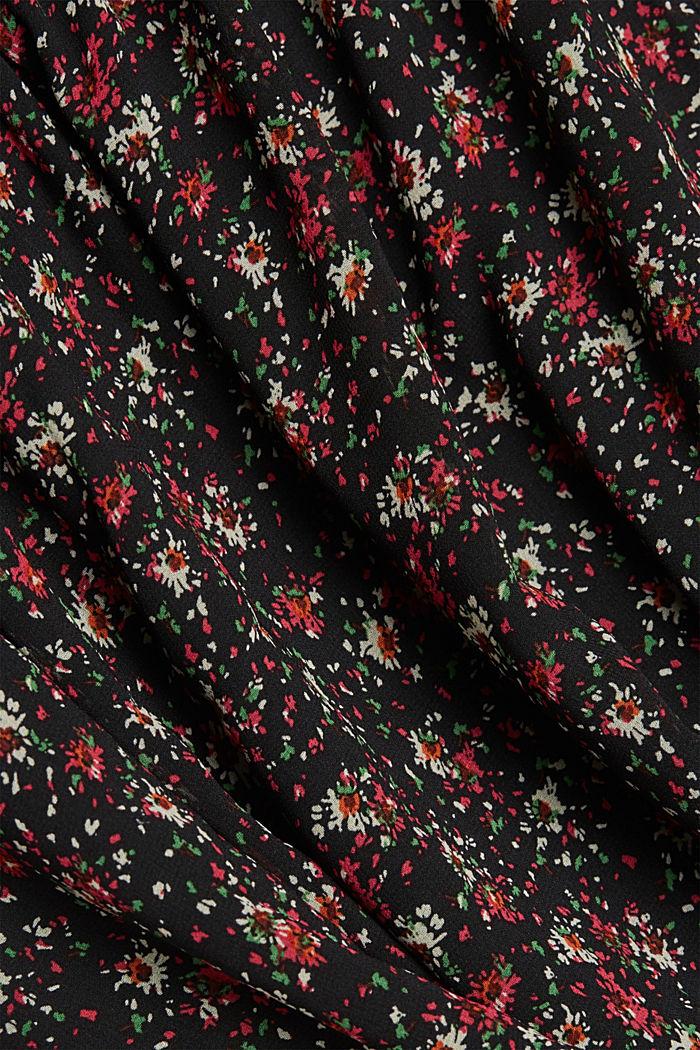 Print-Kleid mit Schluppe, BLACK, detail image number 4