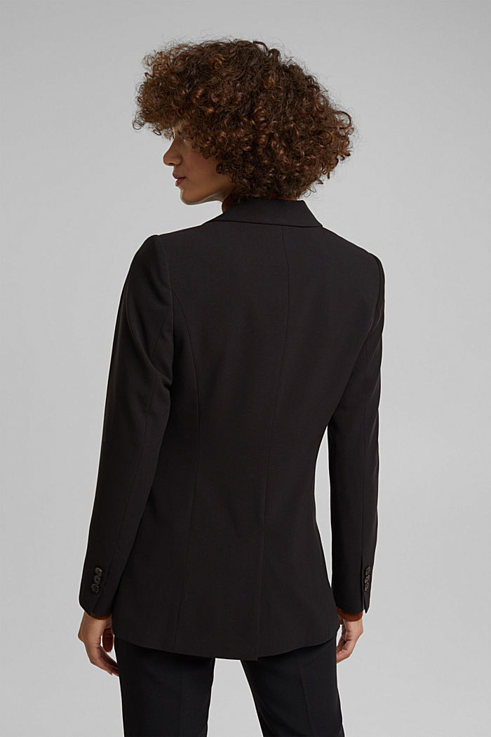 Fitted party blazer, BLACK, detail image number 3